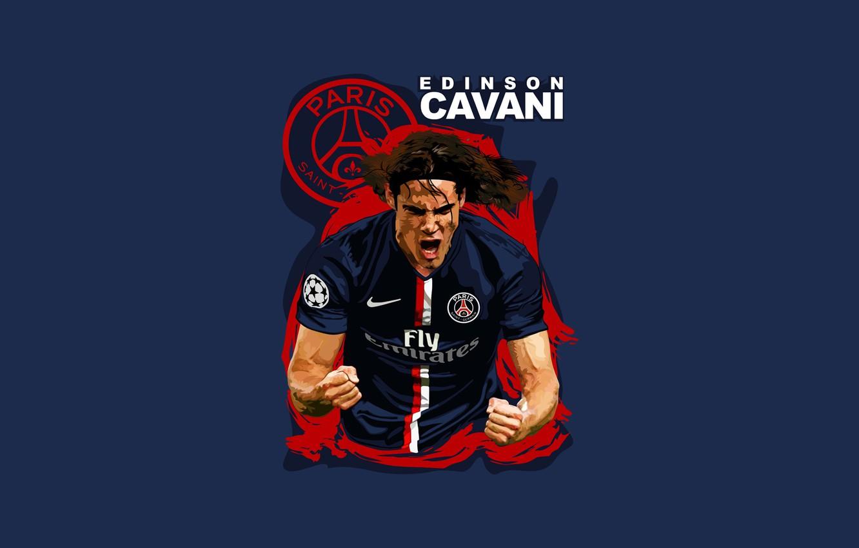 Wallpaper Soccer Psg Edinson Cavani Paris Saint Germain