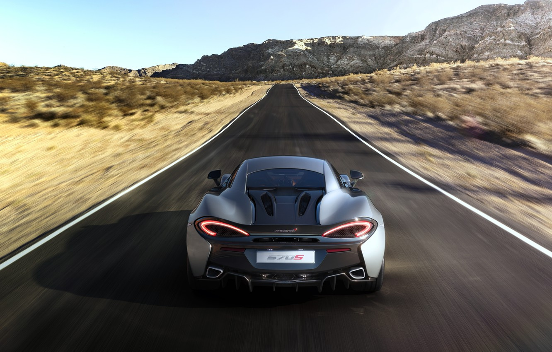 Photo wallpaper coupe, McLaren, Coupe, McLaren, 2015, 570S