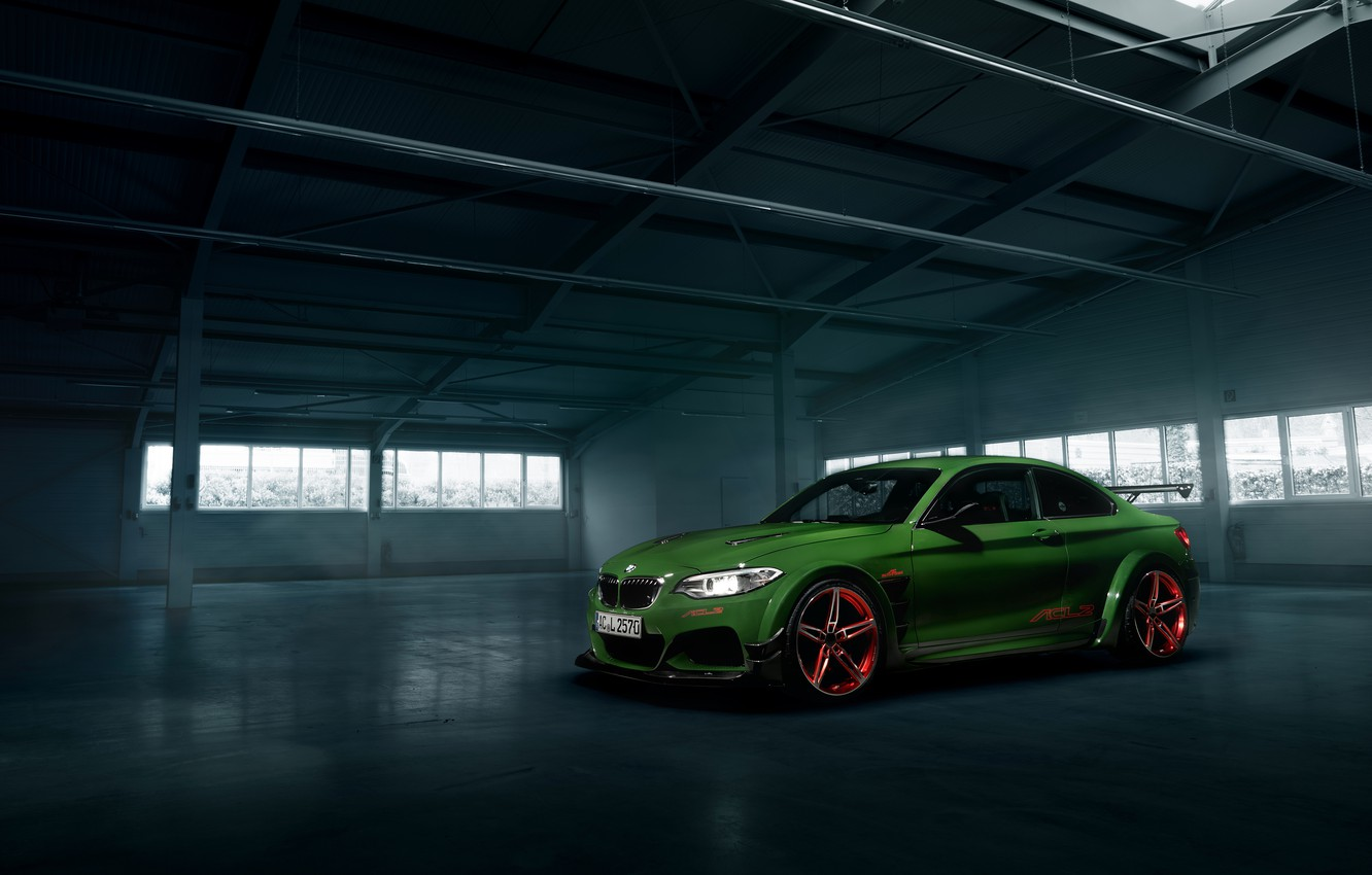 Photo wallpaper BMW, coupe, BMW, F22, Coupe, AC Schnitzer, 2-Series