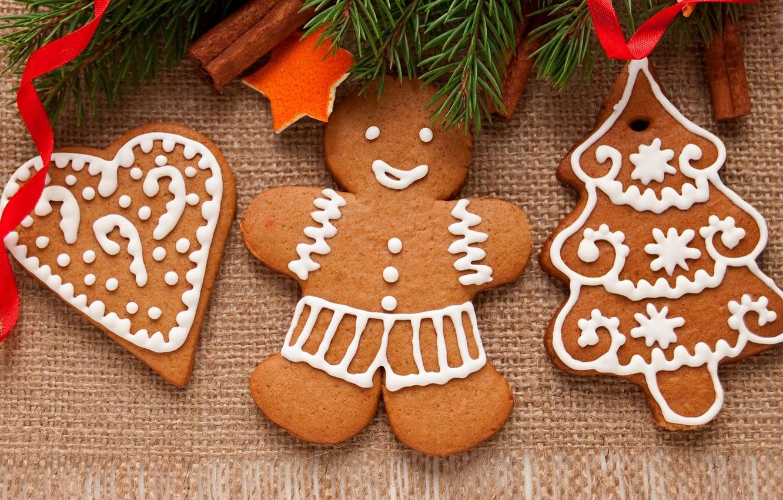 Photo wallpaper food, New Year, cookies, Christmas, christmas, Christmas, food, cakes, holidays, New Year, cookies, Holidays, Christmas
