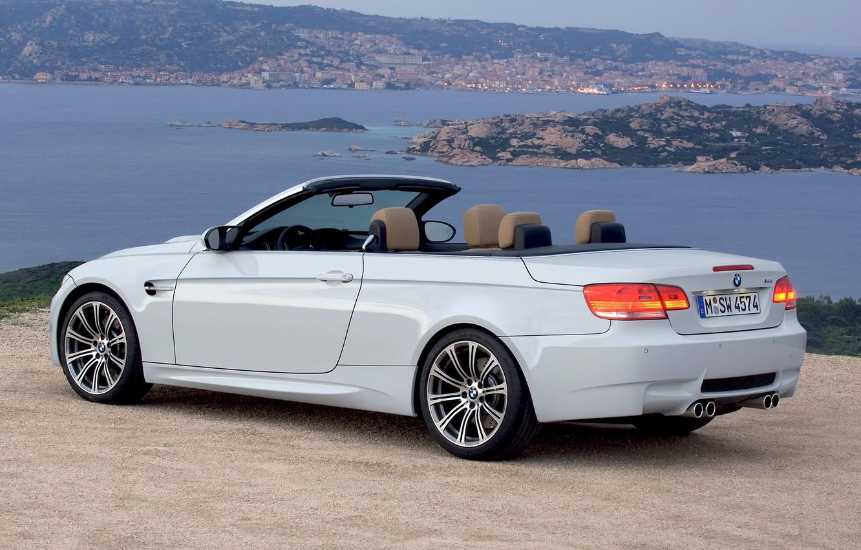 Photo wallpaper Water, Auto, The city, White, BMW, Machine, Convertible, BMW