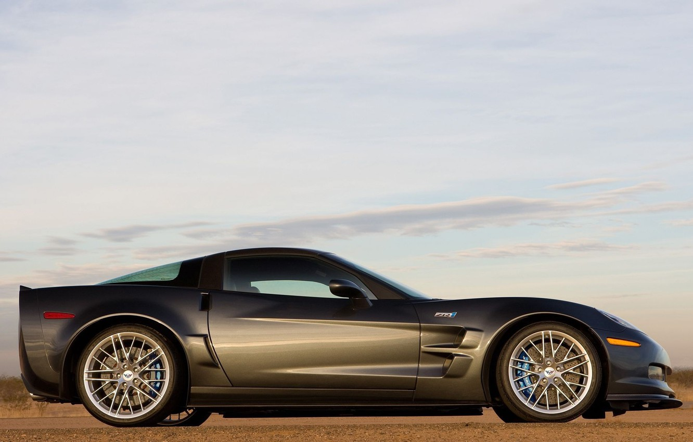 Photo wallpaper Corvette, supercar, ZR1