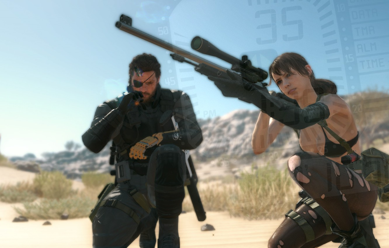Wallpaper Snake Metal Gear Solid Cigar Quiet Metal Gear