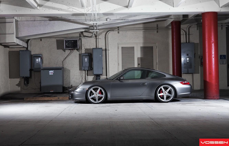 Photo wallpaper 911, Porsche, wheels, vossen