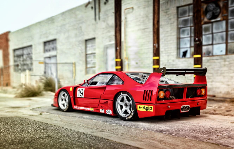 Photo wallpaper Ferrari, F40, Ferrari, Pininfarina, 1994, Michelotto