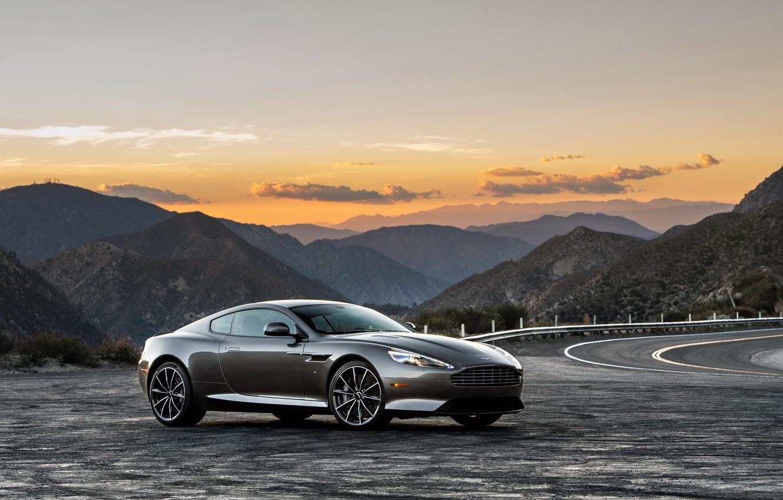 Photo wallpaper Aston Martin, Aston Martin, supercar, DB9