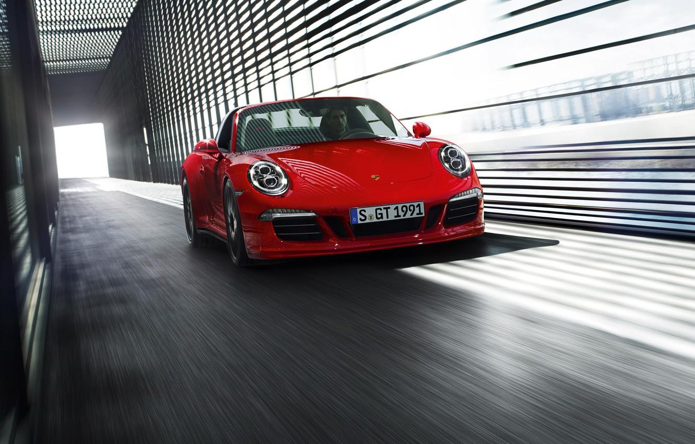 Photo wallpaper 911, Porsche, GTS, 2015, Targa 4