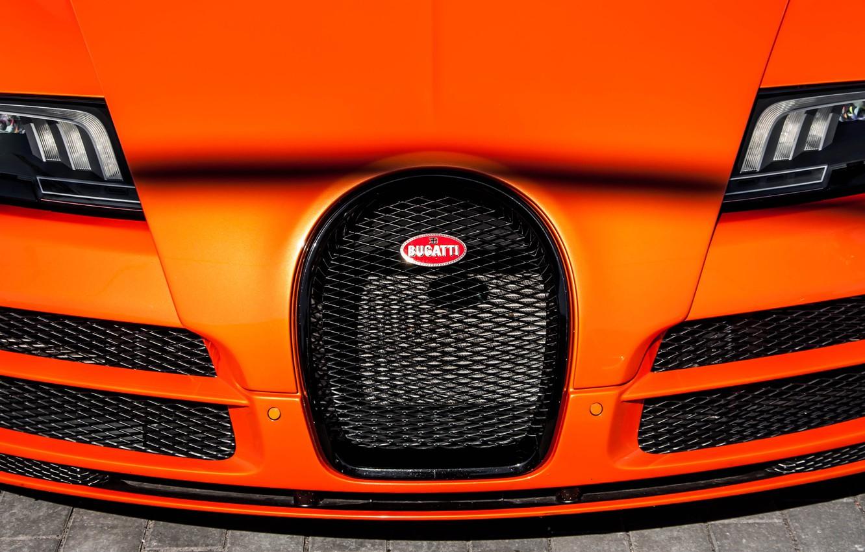 Photo wallpaper Bugatti, Veyron, orange, Grand Sport, Vitesse, 16.4, W16, 1200hp