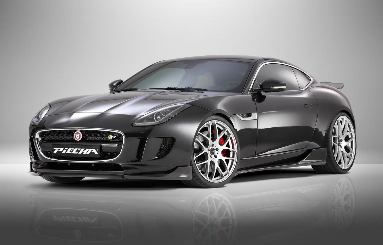 Photo wallpaper coupe, Jaguar, Jaguar, supercar, Coupe, 2015, F-Type R, Piecha Design