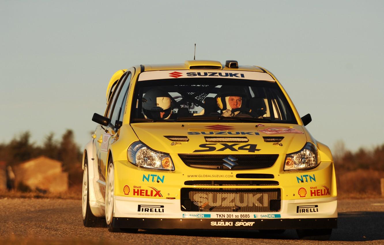 Photo wallpaper Suzuki, WRC, Rally, Monte Carlo, Suzuki, SX4