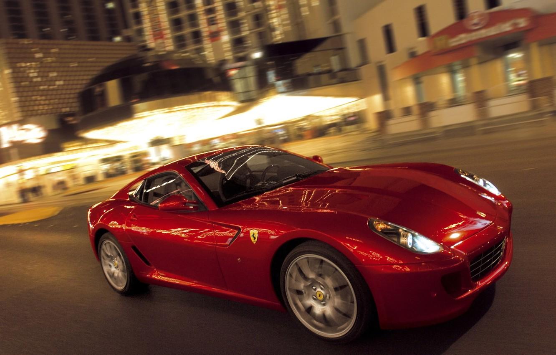 Photo wallpaper Ferrari 599 GTB Fiorano, Luxury