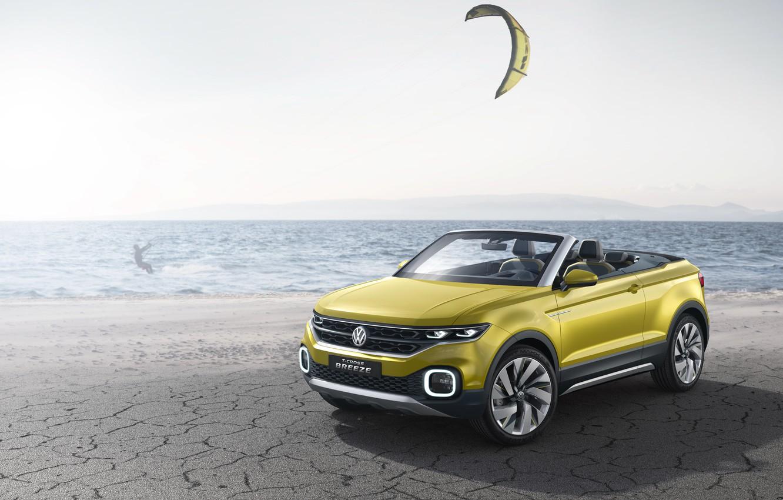 Photo wallpaper Concept, Volkswagen, the concept, Volkswagen, T-Cross