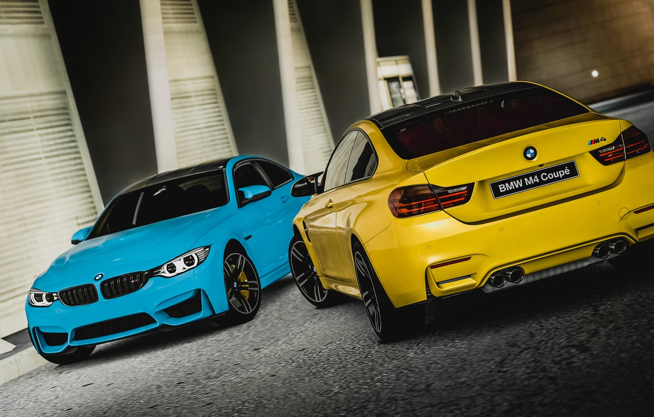 Photo wallpaper BMW, Coupe, F82, Gran Turismo 6