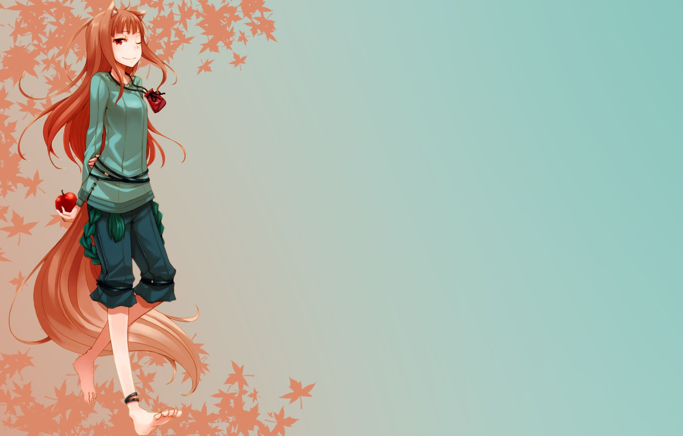 Wallpaper Holo Spice And Wolf Spice And Wolf The Wallpapers