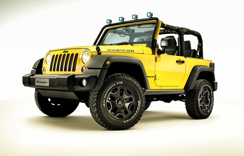 Photo wallpaper jeep, Wrangler, Jeep, Rubicon, 2015, Wrangler, Rocks Star
