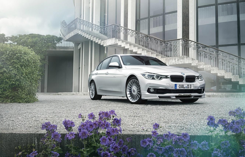 Photo wallpaper BMW, BMW, F30, Alpina, 2015, 3-Series