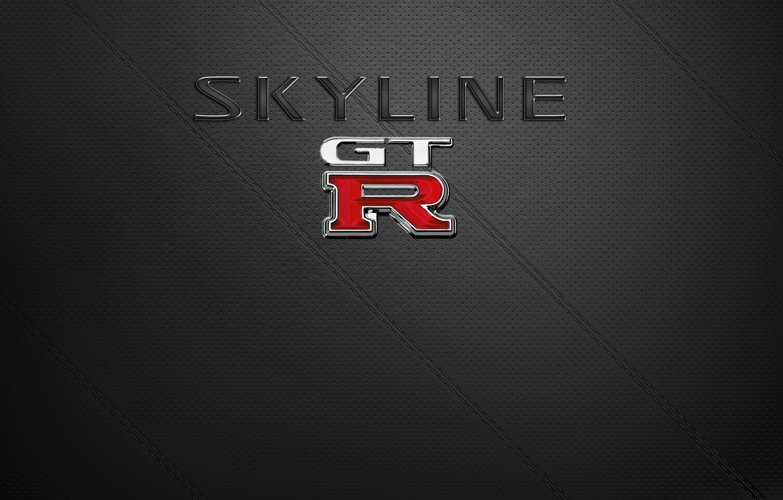 Photo wallpaper Nissan, GT-R, Skyline, Nissan Skyline GT-R