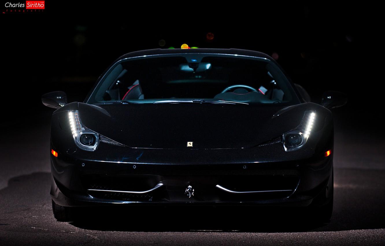 Photo wallpaper machine, auto, optics, before, Ferrari, 458, auto, Italia, Charles Siritho