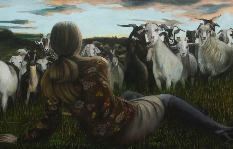 Photo wallpaper picture, Norwegian artist, Christer Karlstad, Outlying Realms