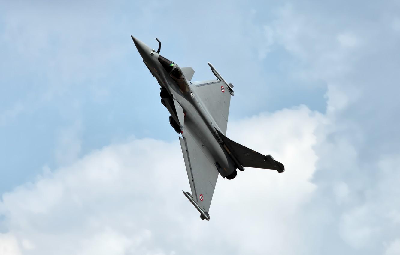 Wallpaper multi-role fighter, Dassault Rafale, the fourth