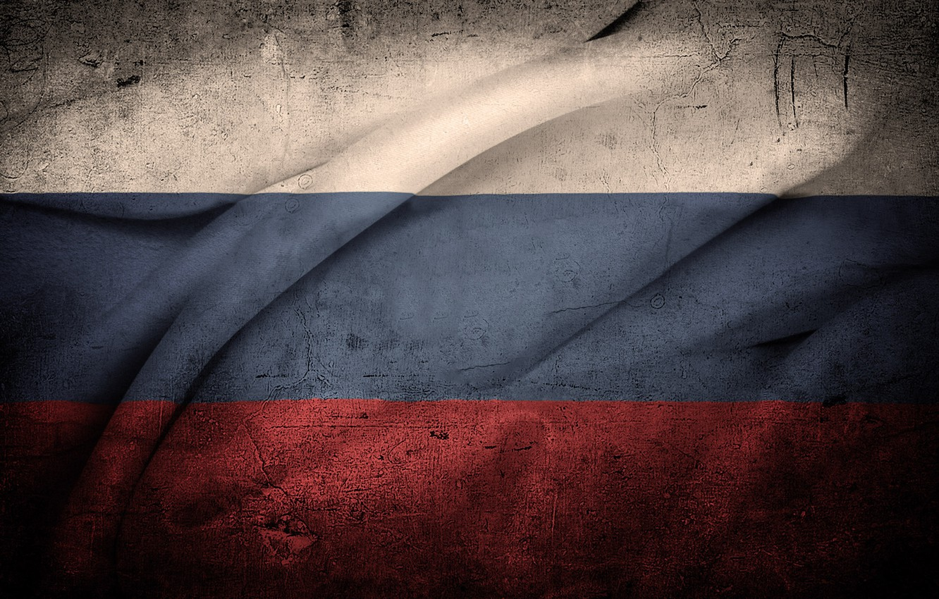 Photo wallpaper white, blue, red, texture, flag, Russia
