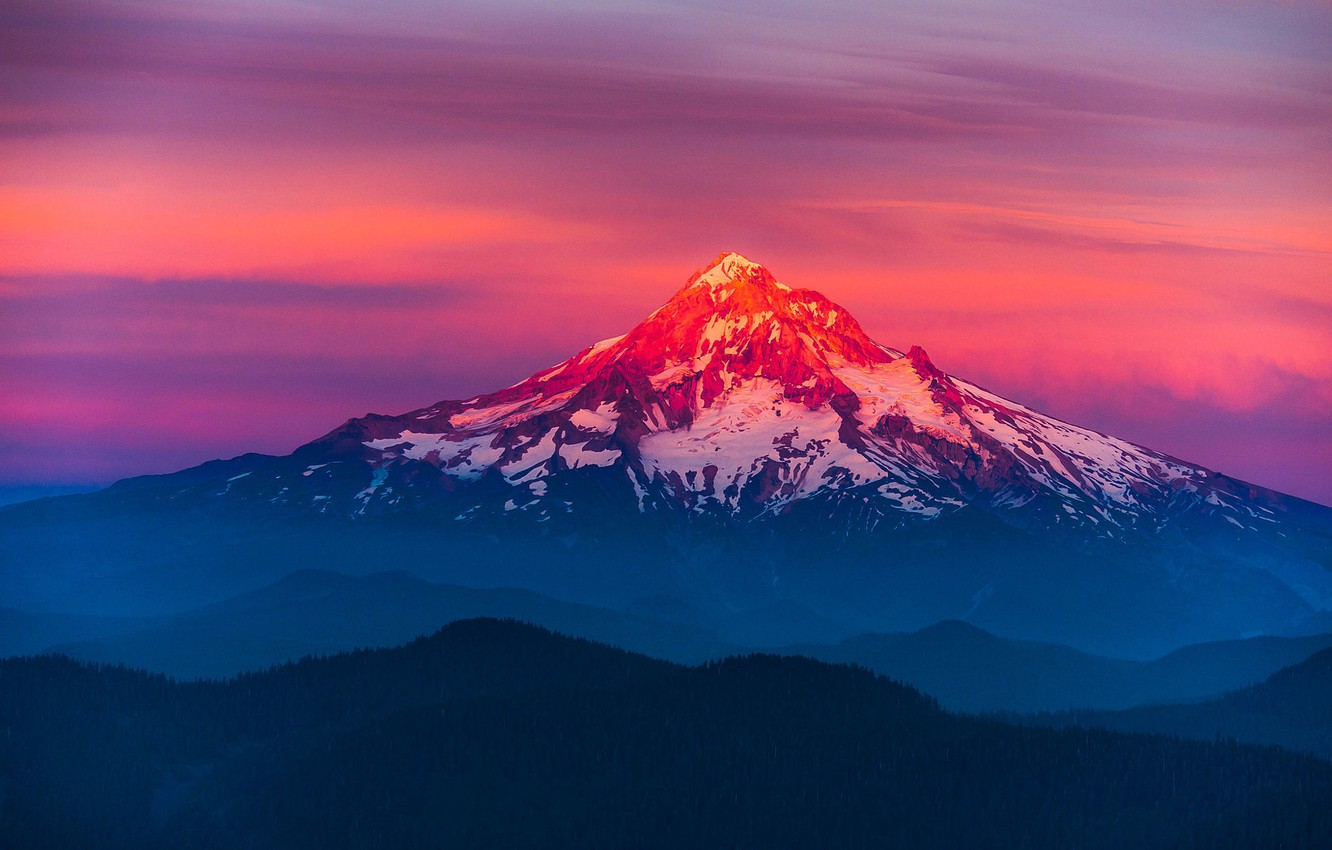 Mountain Sunset Wallpaper Important Wallpapers