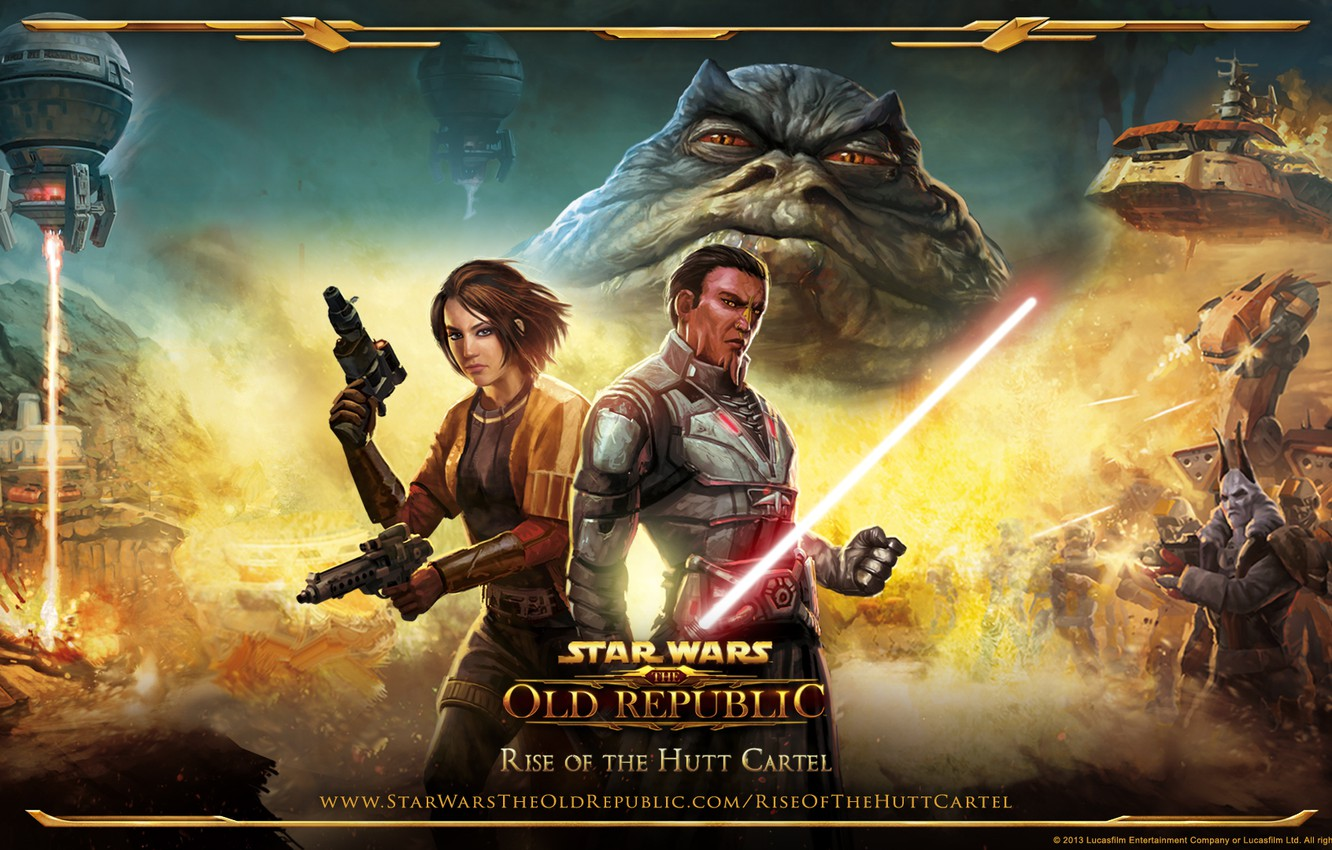 Wallpaper Star Wars The Old Republic Rise Of The Hutt