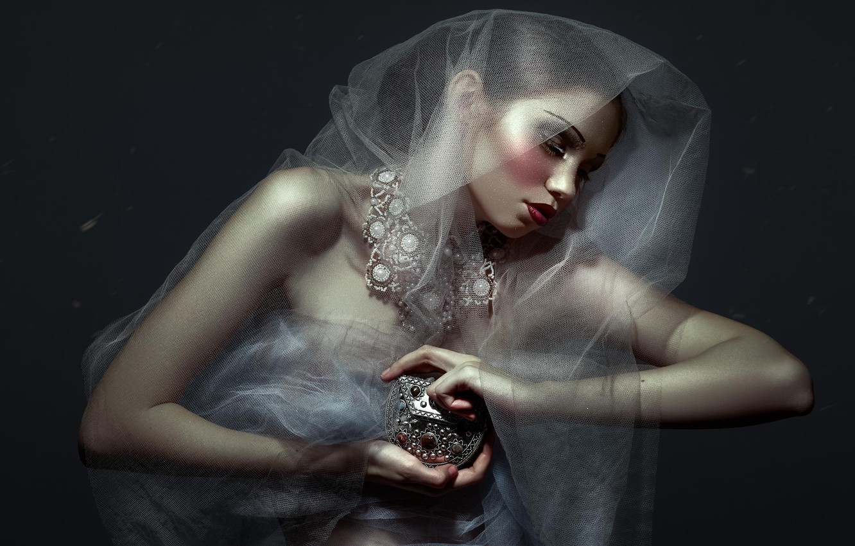 Photo wallpaper girl, makeup, Daniel Ilinca, Twisted Stories
