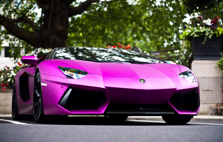 Photo wallpaper the city, Lamborghini, Lamborghini, Lamborghini, LP700-4, Aventador, Aventador
