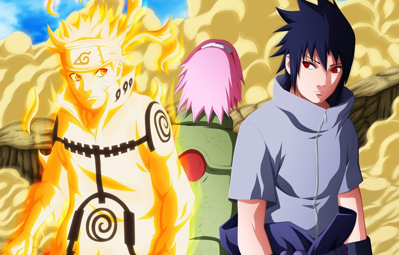 Wallpaper Game Sasuke Naruto Sakura Anime Sharingan