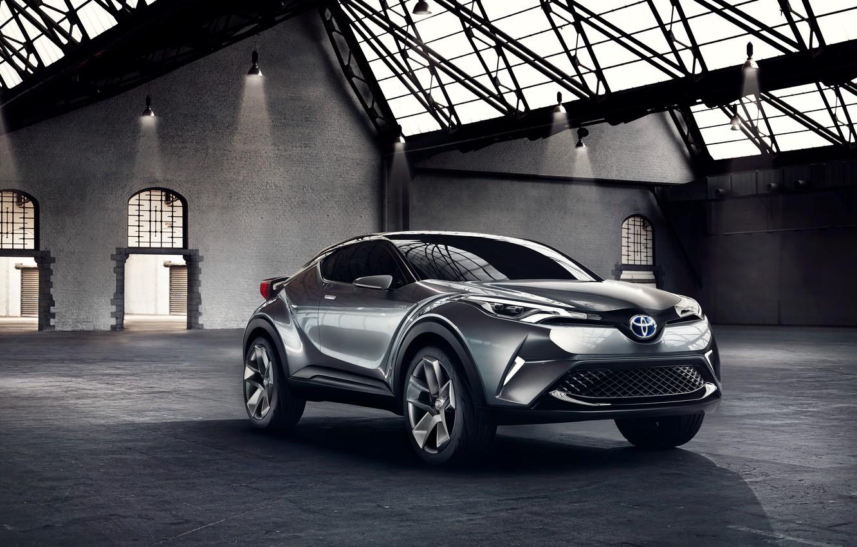 Photo wallpaper Concept, the concept, Toyota, Toyota, 2015, C-HR
