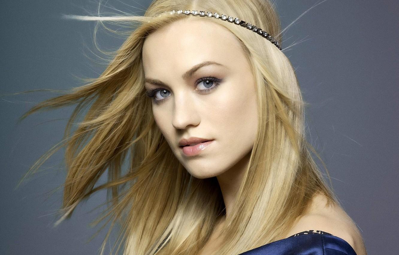 Photo wallpaper face, sweetheart, blonde, Yvonne Strahovski