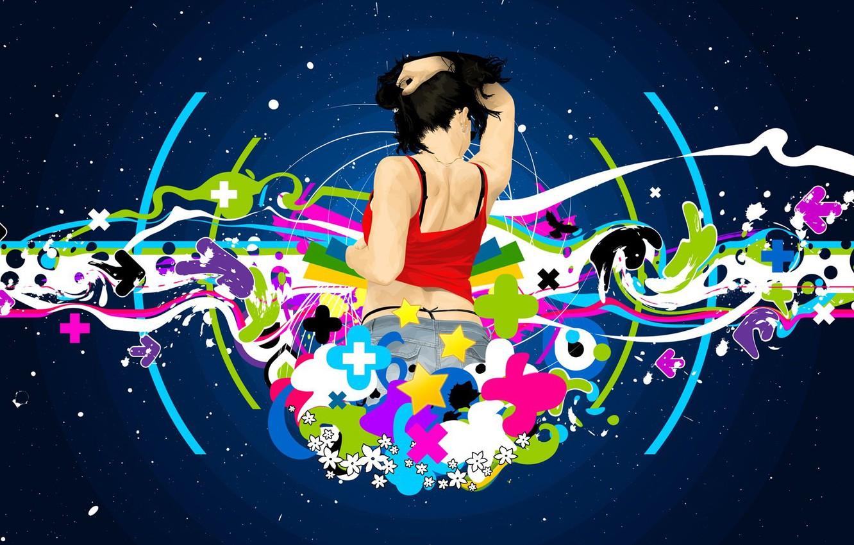 Photo wallpaper girl, Wallpaper, figure, desktop