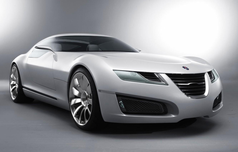 Photo wallpaper white, You can, concept car, Aero-X