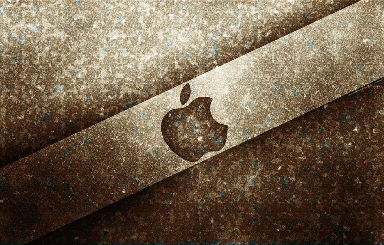Photo wallpaper Apple, Apple, wallpapers, brand