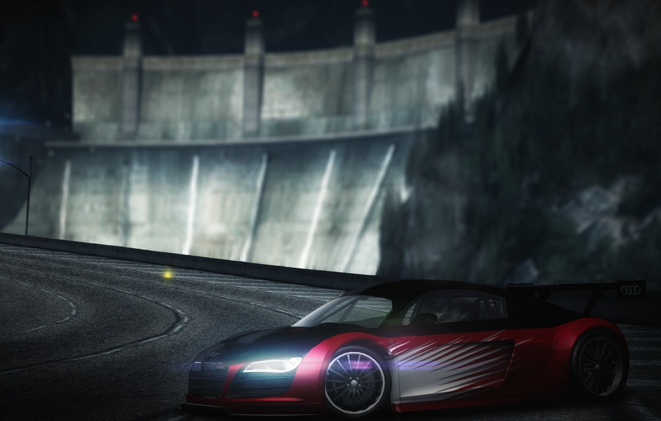 Wallpaper Audi R8 Photoshop Screenshot Need For Speed