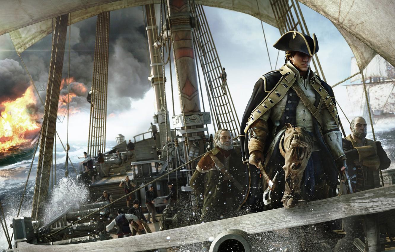 Photo wallpaper Assassin's Creed III, Radunhageydu, Connor Kenuey, Assassin's creed 3