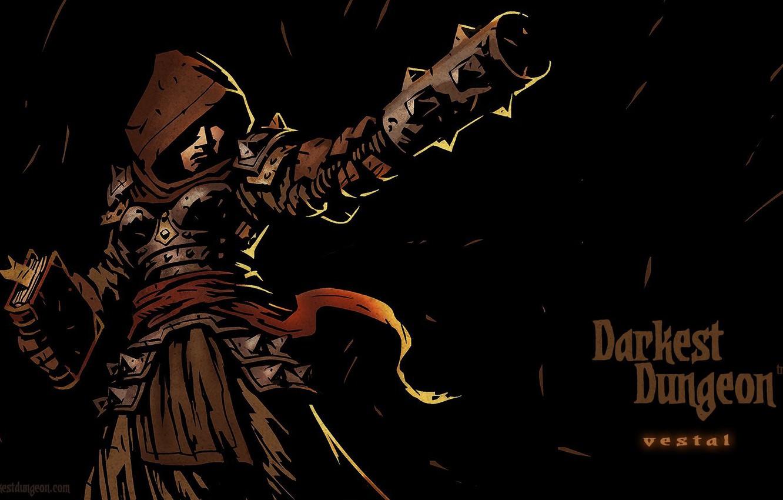 Wallpaper RPG, Darkest Dungeon, Red Hook Studios, Vestal images for