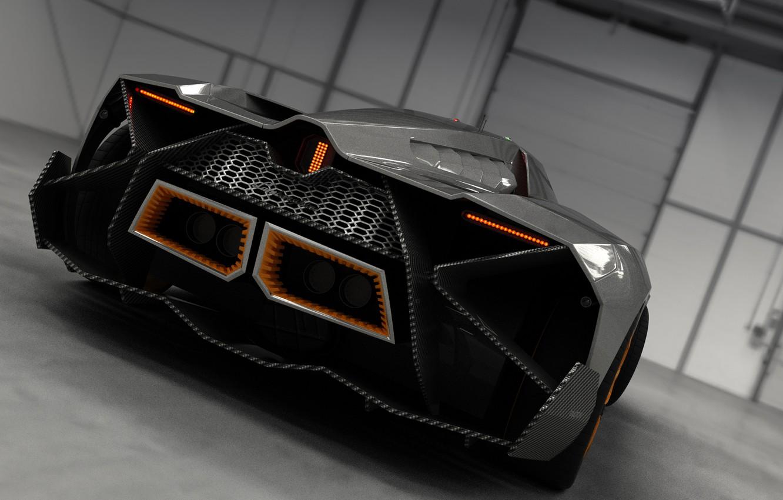 Photo wallpaper Concept, Auto, Lamborghini, Ass, Car, 2014, Egoista