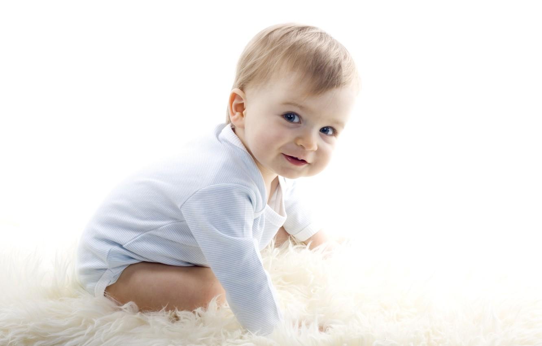 Photo wallpaper child, face, sweet, baby, kid, newborn