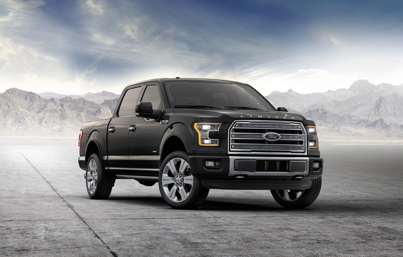 Photo wallpaper Ford, jeep, Ford, F-150, SuperCrew, 2015