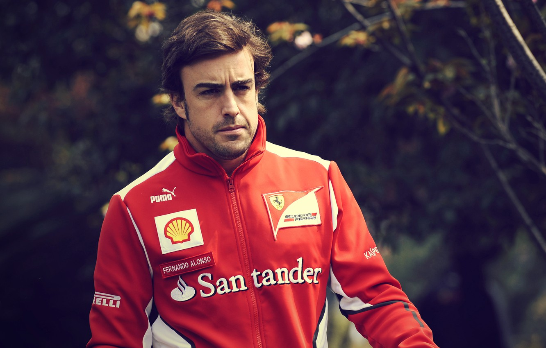 Photo wallpaper Ferrari, Formula 1, Ferrari, pilot, Formula 1, Fernando Alonso, Fernando Alonso