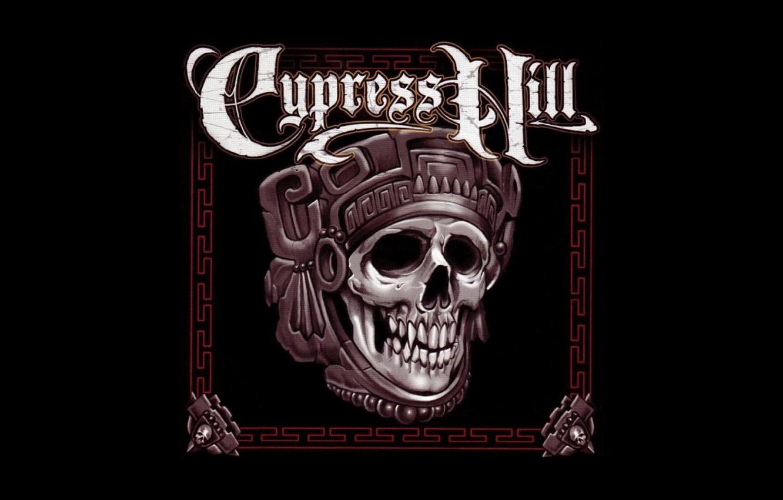 Photo wallpaper Minimalism, Skull, Music, Rapcore, Cypress Hill, Hip-Hip