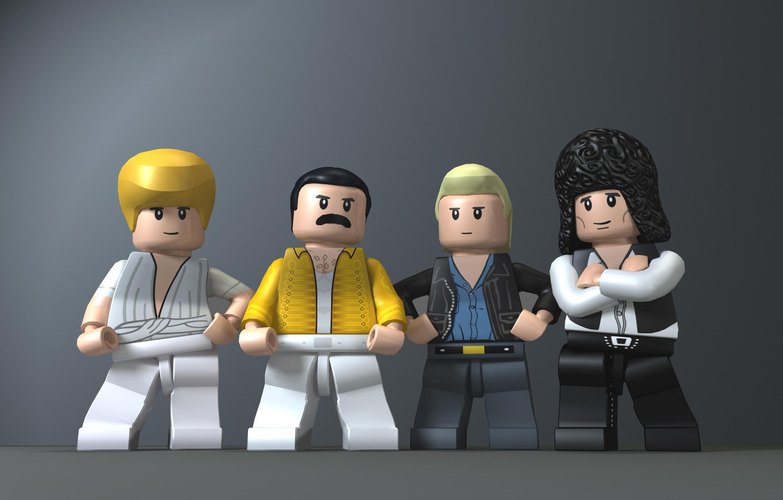 Photo wallpaper Queen, Freddie Mercury, Brian May, Roger Taylor, John Deacon