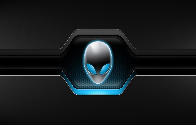 Photo wallpaper eyes, background, alien, form, AlienWare