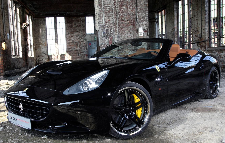 Photo wallpaper tuning, Ferrari, edo competition, ferrari california