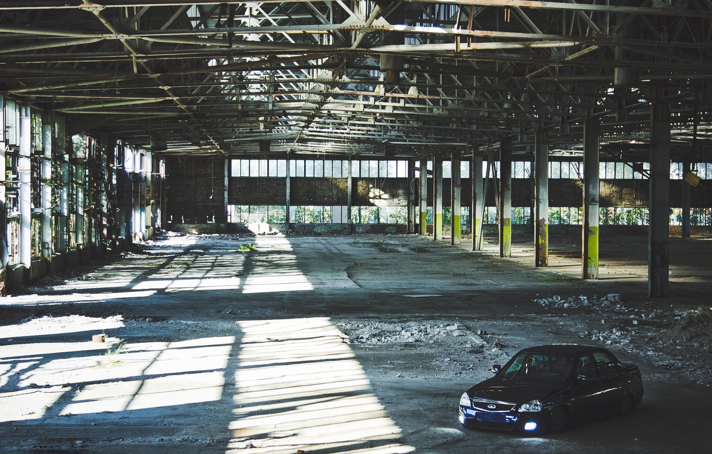 Photo wallpaper machine, auto, Lada, auto, Priora, Prior, 2170