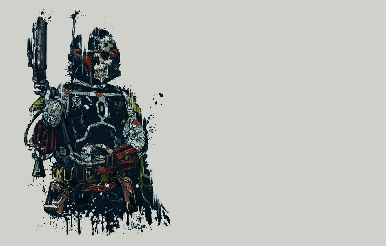 Wallpaper Mandalorian Boba Fett Sake Star Wars Bounty Hunter