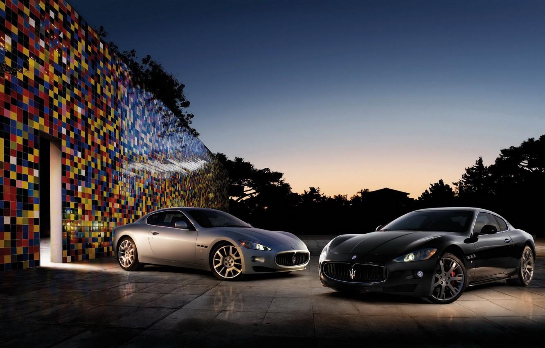 Photo wallpaper two, maserati, car, Maserati, granturismo, autowalls