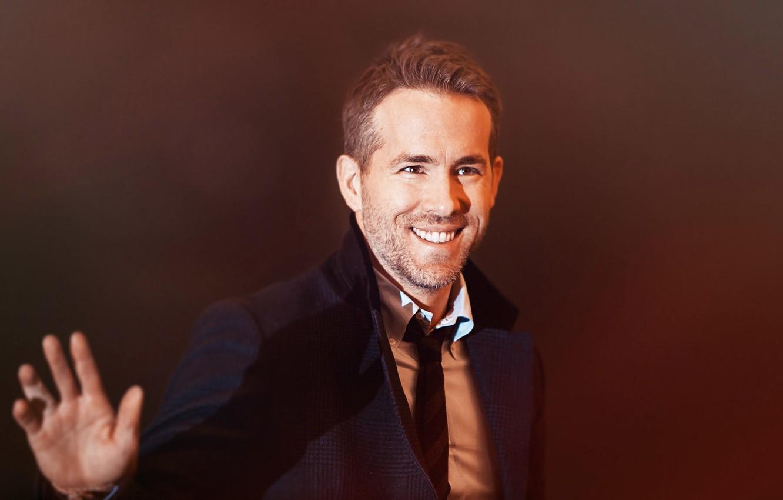 Photo wallpaper Smile, Ryan Reynolds, Ryan Reynolds, Actor